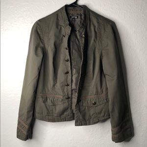 Apt. 9 army green jacket! Size M
